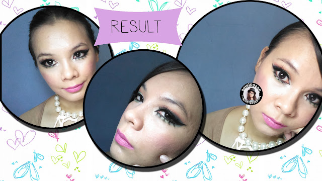 MOTD Challenge: No Eyebrow and Sweety Party Makeup