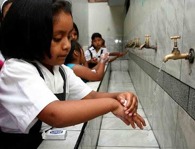 higiene lavarse las manos