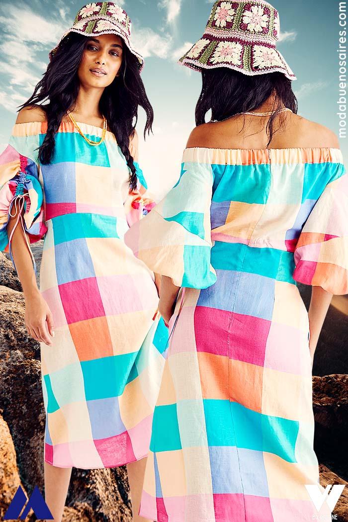 estampas de moda verano 2022 moda mujer