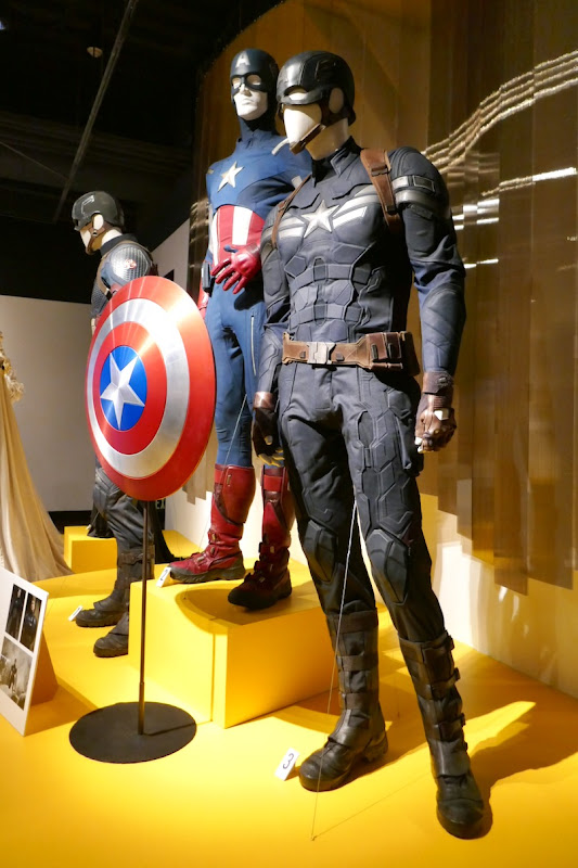 Captain America Winter Soldier movie costume