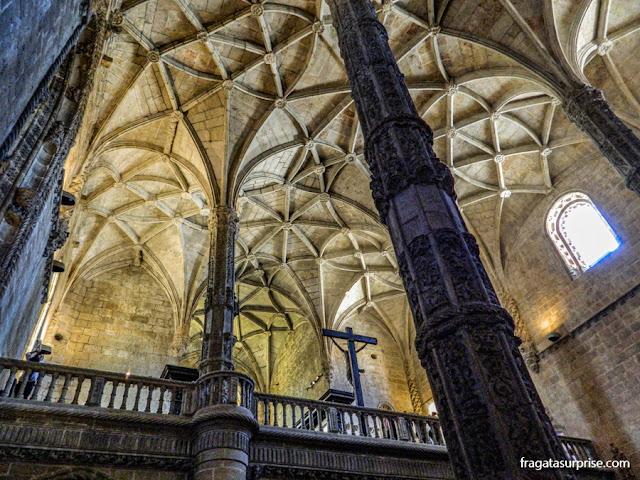 Coro da Igreja de Santa Maria, no Mosteiro dos Jerónimos, Lisboa