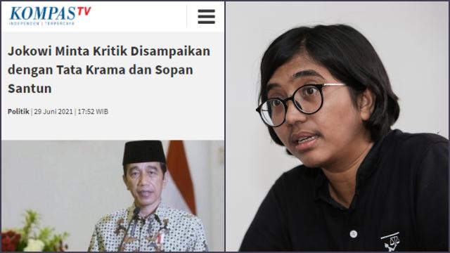 Tanggapi Jokowi, YLBHI:  Di Jawa Bicara Keras itu Tidak Sopan, di Kebudayaan Lain Biasa saja