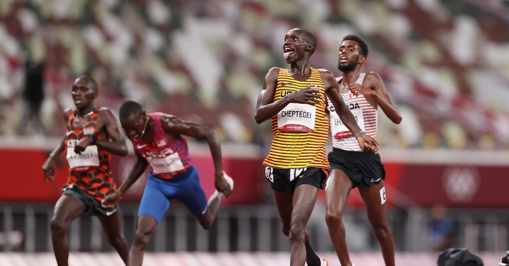 Kenya keeps dominating the world in track athletics