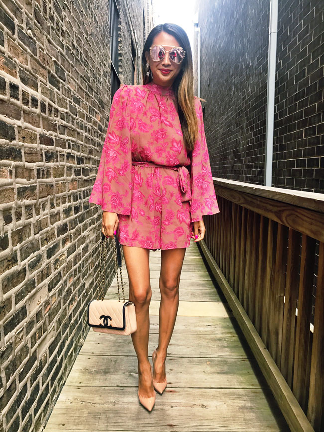 Bell Sleeve Romper Steal And 700 Nordstrom Gift Red Soles And