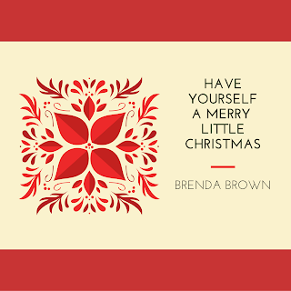 album cover for christmas song by brenda brown
