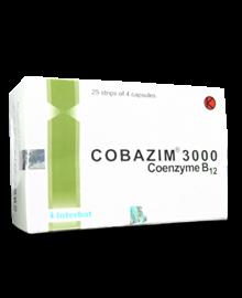 Cobazim : Coenzyme B12 1000 mcg dan 3000 mcg