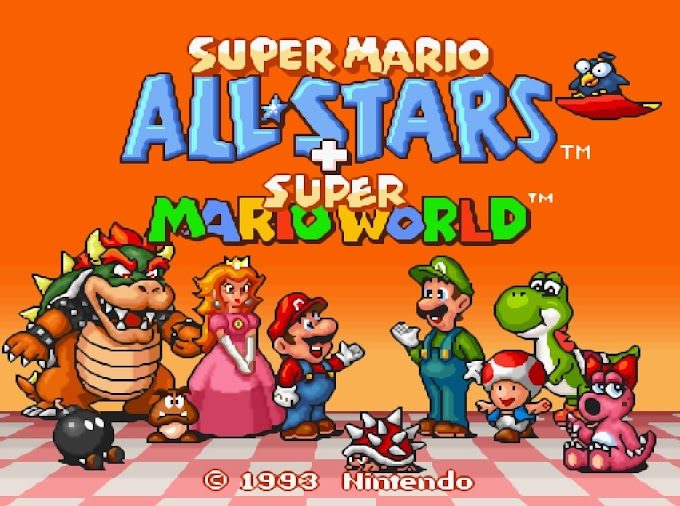 Download Rom Hack - Super Mario All-Stars + Super Mario World [SNES]