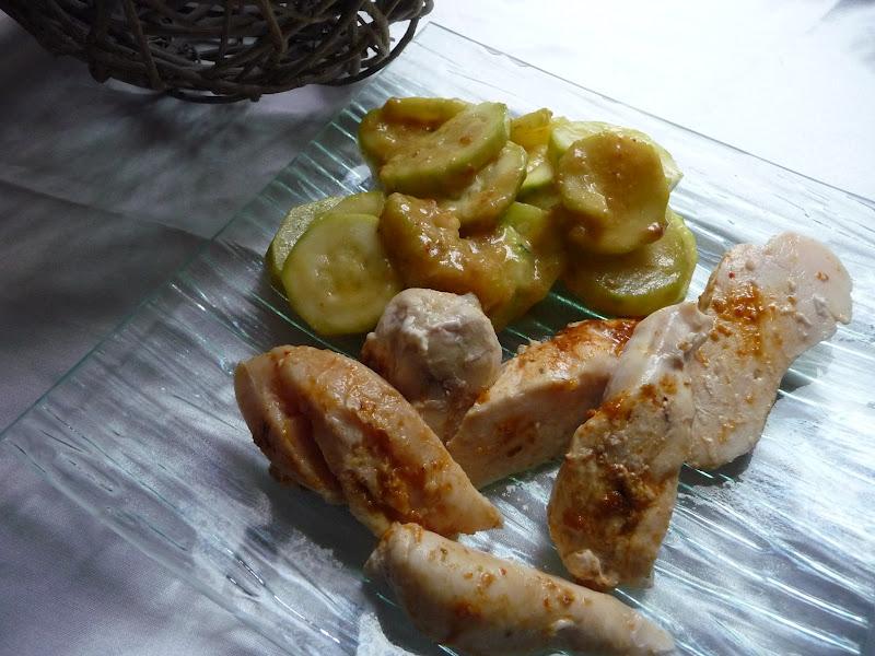 Poulet Au Curry Lait De Coco Et Ses Courgettes Au Thermomix