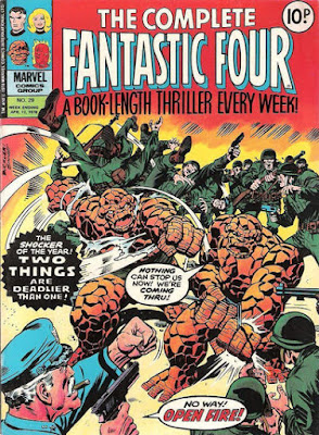 The Complete Fantastic Four #29, Thing vs Thing