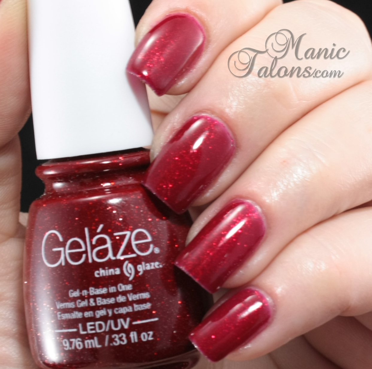 Manic Talons Nail Design Gelaze By China Glaze Review And Wear Test