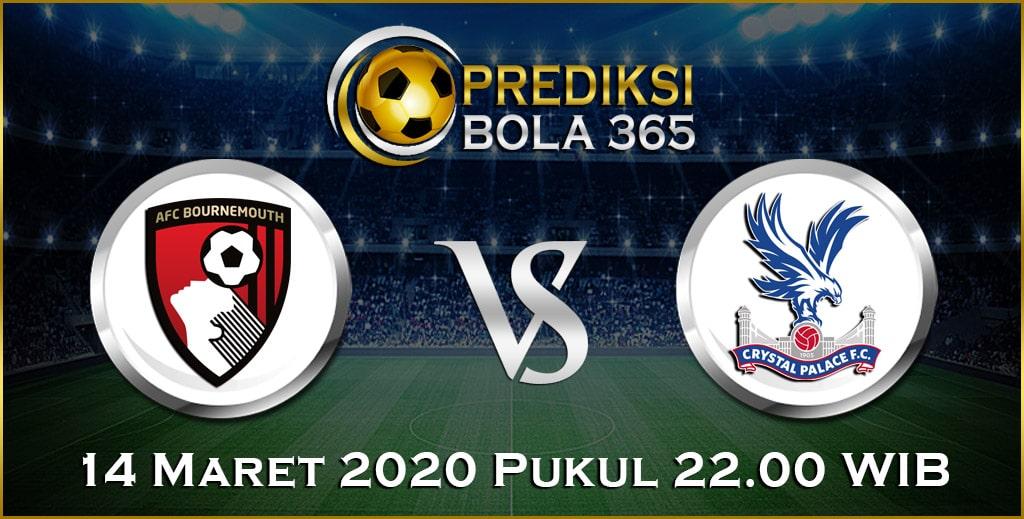 Prediksi Skor Bola Bournemouth vs Crystal Palace 14 Maret 2020