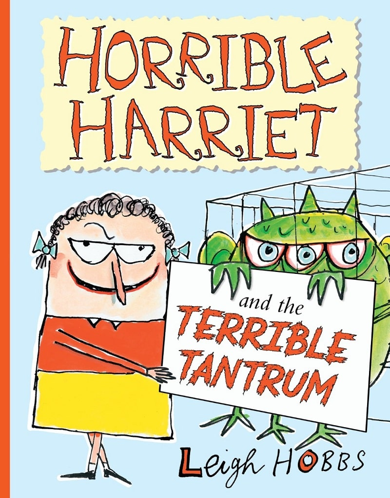 horrible harriet and the terrible tantrum book cover