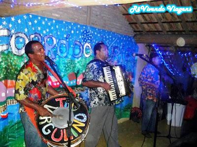 Trio Virgulino no Forró do Ouriço em Caraíva