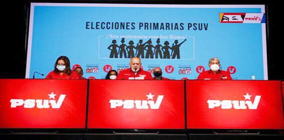 Aplazados | PSUV deja fuera de primarias a Elías Jaua, Arias Cárdenas y Érika Farías