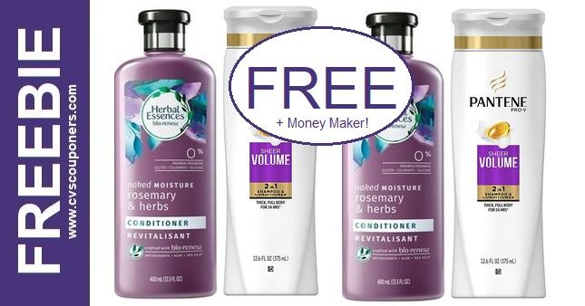FREE Herbal & Pantene CVS Deals 7-26-8-1