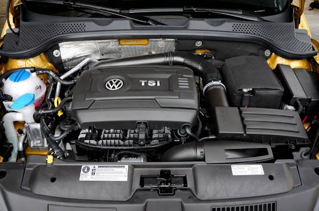 2016 Volkswagen Beetle Dune Engine