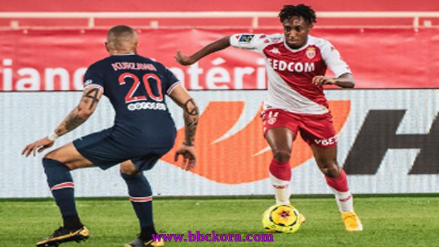 موناكو يصنع ريمونتادا علي ضيفه باريس سان جيرمان في الدوري الفرنسي لكرة القدم