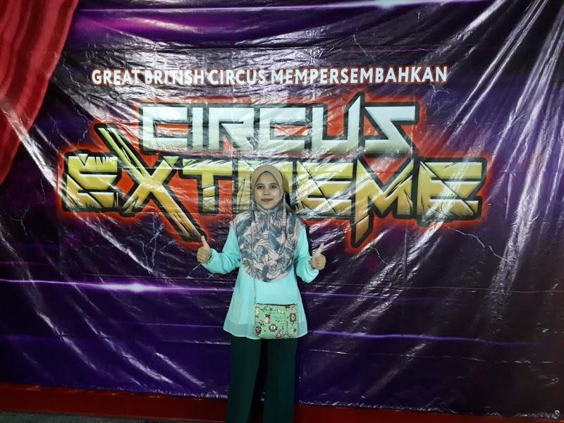 Teruja Dengan Persembahan Circus Extreme Di Terengganu