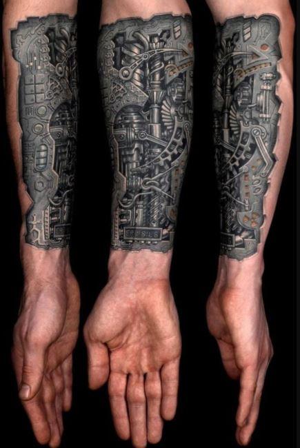 Arm Tattoos For Men half sleeves