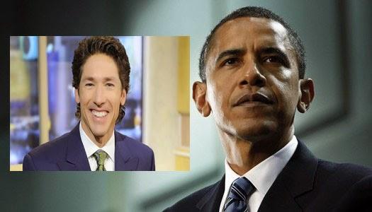 Joel Osteen elogia a Obama como un cristiano