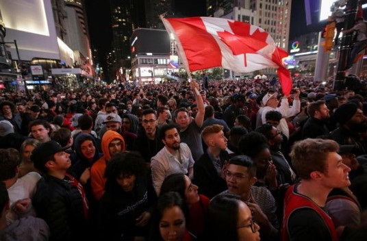 Toronto and the rest of Canada rejoice over Raptors' first NBA title