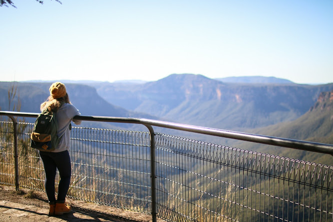 Evans Lookout Blue Mountains NSW Hiking Travel