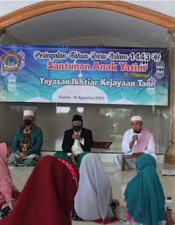YIKT-LPI Argopuro panti jember gelar Peringatan Tahun Baru Islam 1443 H/2021.