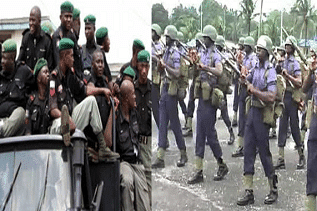 Police, Navy clash in Lagos