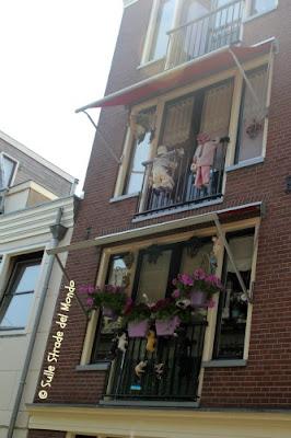 balconi di Amsterdam
