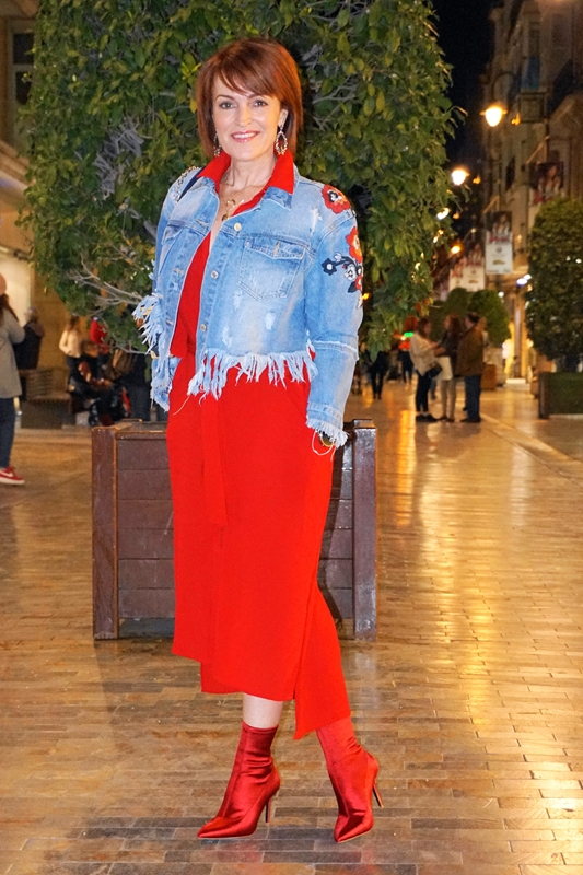 Almamodaaldia - Look Total Red