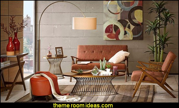 Retro mod style decorating ideas - mid century mod style decorating ideas