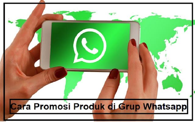 promosi produk di wa