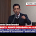 Boca Aberta Junior diz na ALEP que denuncias contra sua família partiram de ex-assessores e teriam cunho político