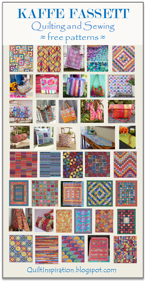 Free Pattern Day Kaffe Fassett Quilting And Sewing Quilt
