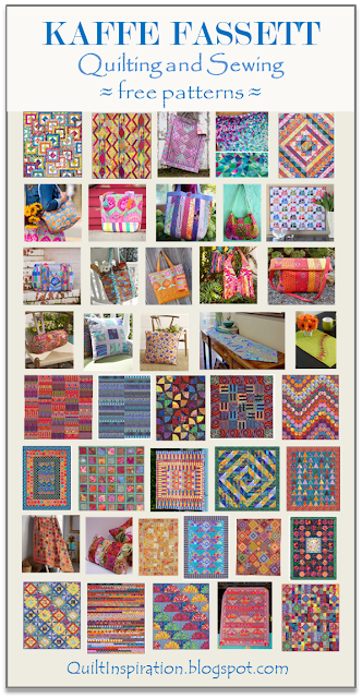 502b33486d70cc Quilt Inspiration  Free pattern day! Kaffe Fassett Quilting and Sewing