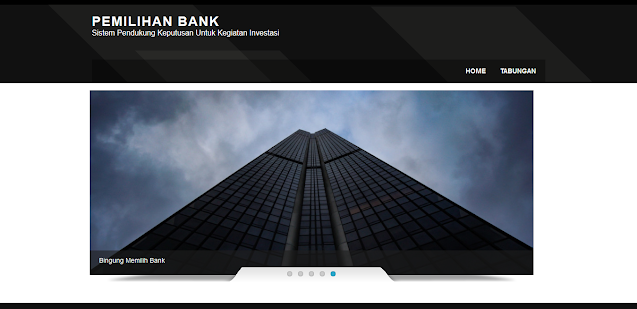 SPK Pemilihan Bank dengan Metode Fuzzy