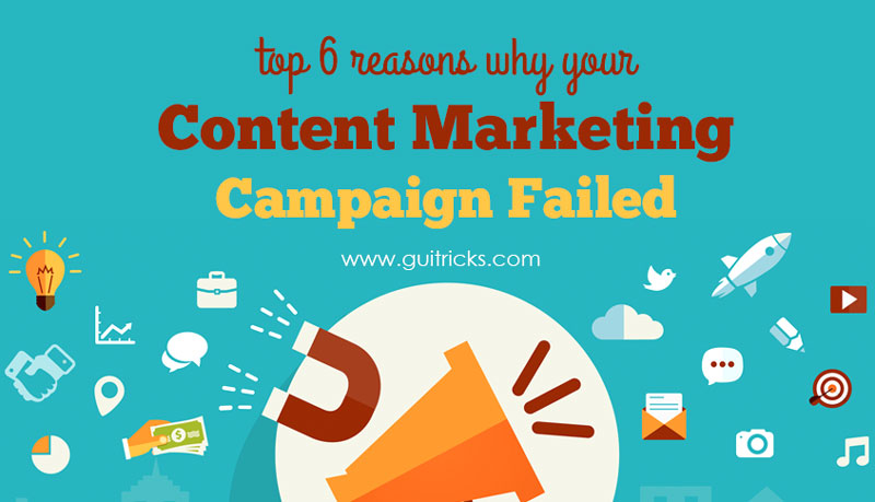 Why Your Content Marketing Campaign Failed