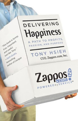 "Featured in the article: ""12 Best Leadership Books You Must Read"". Delivering Happiness By Tony Hsieh"