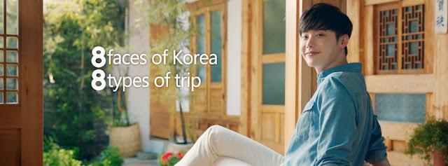 李鍾碩代言韓國觀光公社 八支廣告 八種魅力