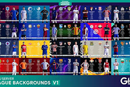 New League & Cups Backgrounds V1 - PES 2021