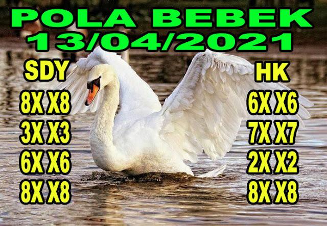Syair HK Pola Bebek 13 April 2021