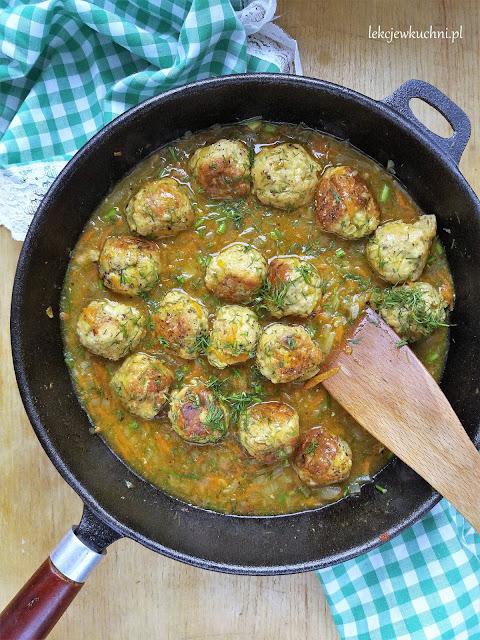 Pulpeciki w sosie koperkowym / Meatballs in Dill Sauce