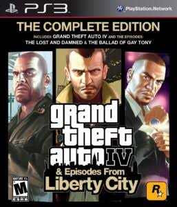 GRAND THEFT AUTO IV THE COMPLETE EDITION PS3 TORRENT