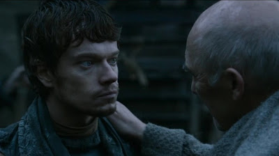 Theon Greyjoy takes Winterfell