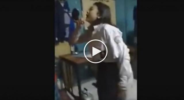 (VIDEO) ASTAGHFIRULLAH... Warga Gerebek Siswi Mabuk Tepat di Hari Sumpah Pemuda, SIswi Ini Bersumpah seperti Ini...