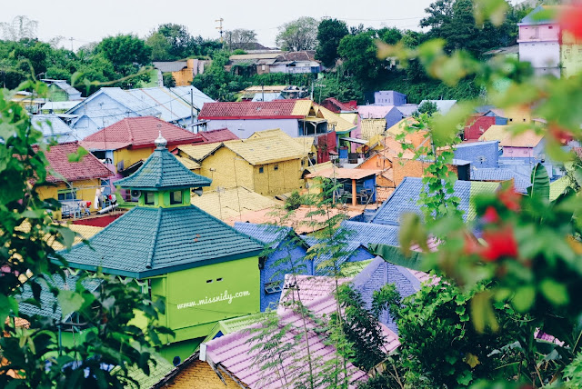 foto-foto di kampung jodipan malang