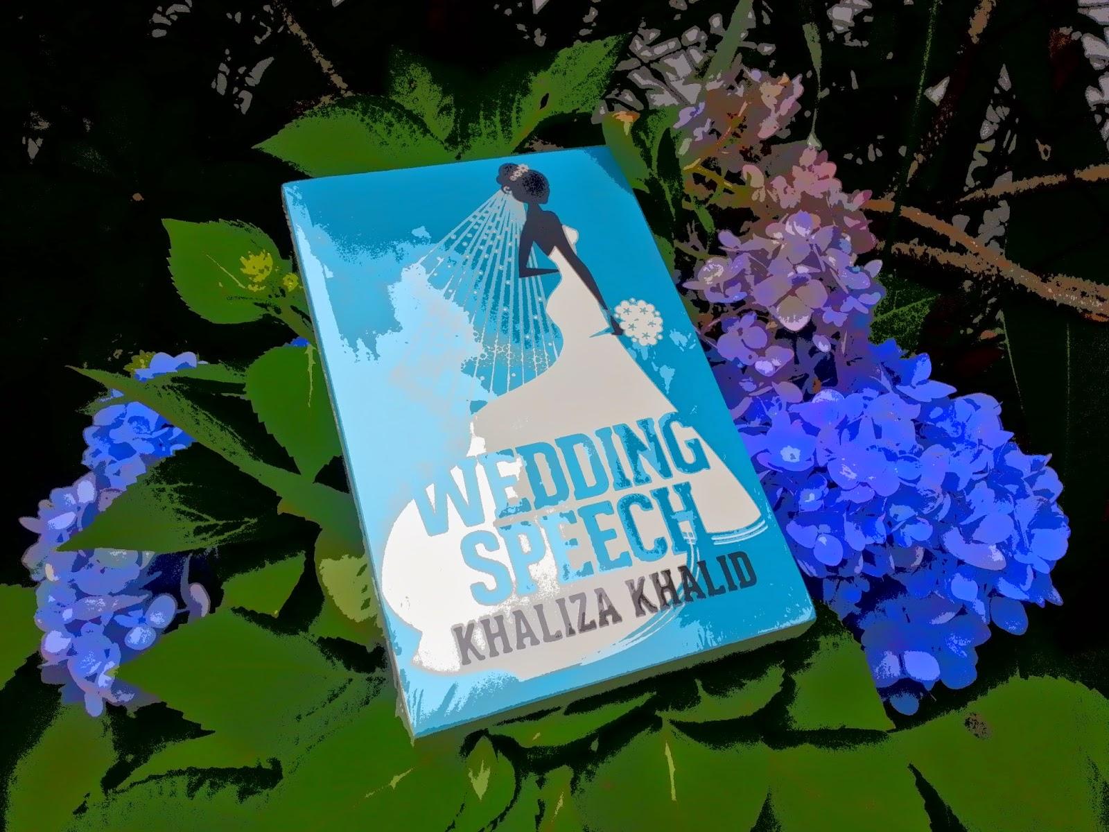 wedding speech khaliza khalid review