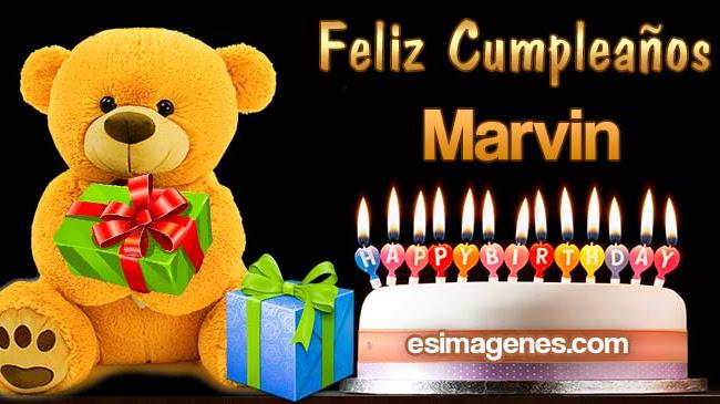 Feliz Cumpleaños Marvin