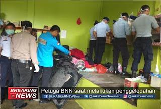 BNN geledah kamar Mawar Lapas Warungkiara
