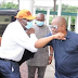 Governor Nyesom Wike hosts Governor Obaseki in Rivers state after he got disqualified by APC